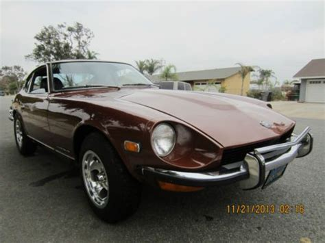 Datsun 350z For Sale by Sell Used Clean 1973 Datsun 240z Black Interior