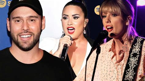 Demi Lovato Backs Scooter Braun in Beef with Taylor Swift ...