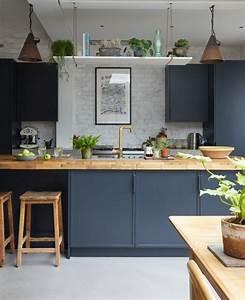 Blue, Kitchen, Ideas, Powder, Blue, Navy, Blue, U0026, Dark, Kitchen, Inspiration