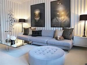 Wohnzimmergestaltung Mit Tapeten : 50 wundersch ne interieur ideen mit designer tapeten ~ Sanjose-hotels-ca.com Haus und Dekorationen
