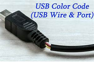 A Brief Introduction To Usb Color Code  Usb Wire  U0026 Port