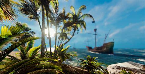desert island  ship  animix videohive