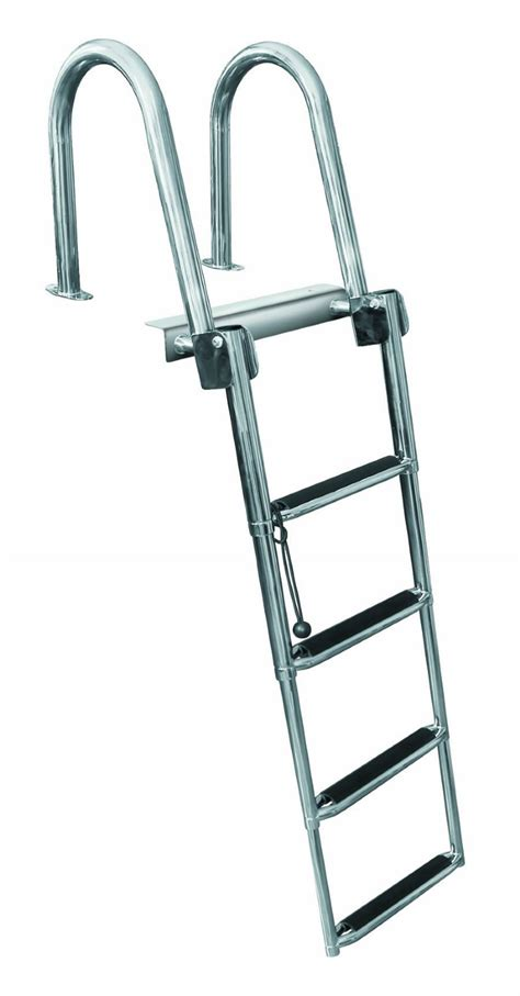 Boat Ladder by 4 Step Rear Entry Stainless Steel Pontoon Ladders 4 Step