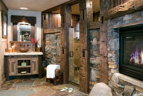 Rustic Bathrooms : 26 Impressive Ideas Of Rustic Bathroom Vanity