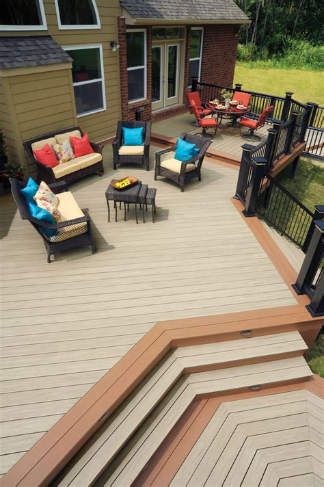 Azek Porch Decking Colors by 17 Best Images About Azek Deck Rail On