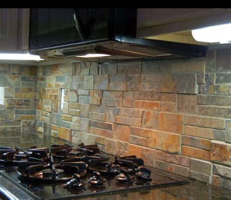 pictures of kitchen backsplash rustic kitchen back splash quot terracotta quot stack ledge