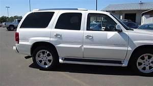 2005 Cadillac Escalade  White Pearl - Stock  A3037c - Walk Around