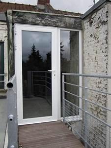 Porte De Service Aluminium : portes pali res aluminium sch co menuiserie ext rieure ~ Dailycaller-alerts.com Idées de Décoration