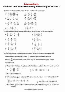 Brüche Berechnen : mathematik klassenarbeiten bruchrechnen ~ Themetempest.com Abrechnung