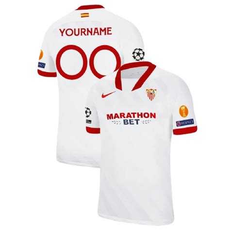 Jun 20, 2021 · kounde has been linked with a number of clubs this summer,. Sevilla White 18-19 Home Custom Kit Jersey