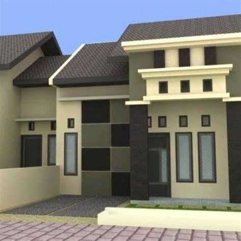 desain rumah minimalis warna biru desain rumah