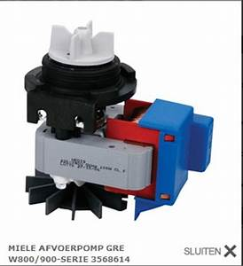 Miele Novotronic W918 Laugenpumpe : wasmachine miele w918 lekt aan onderzijde ~ Michelbontemps.com Haus und Dekorationen
