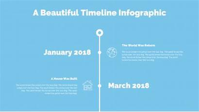 Timeline Powerpoint Graphic Slideshow Simple Create Steps