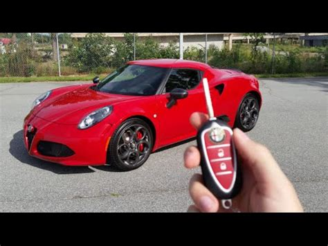 2015 Alfa Romeo 4c Launch Edition Start Up, Exhaust And