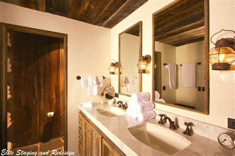 rustic bathroom light fixtures