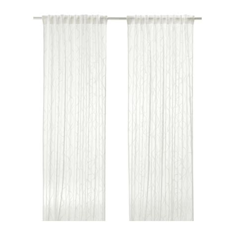 sparv 214 rt sheer curtains 1 pair ikea