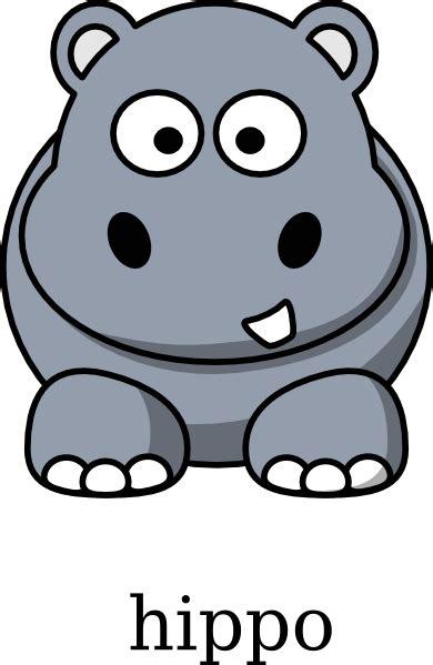 Hippo Clip Hippo Clip At Clker Vector Clip