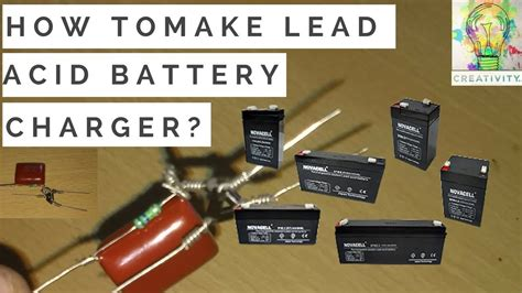 How Make Charger Circuit For Lead Acid Battery