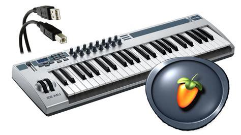 fl studio 191 c 243 mo conectar y configurar un piano teclado o controlador usb