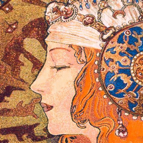 Tapisserie Mucha by T 234 Te Byzantine Mucha Alfons Mucha