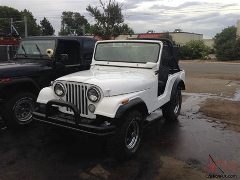 jeep amc 1972 rare amc jeep cj5 cj 5 renegade 5 0 304 v8 4x4 t 15