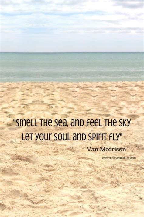 Beach Quotes  Smell The Sea And Feel The Sky Let Your