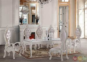 free shipping all homey design dining sets victorian With white formal dining room sets