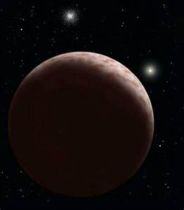 Planetoid Sedna - Solar System Planets And Moons Section.