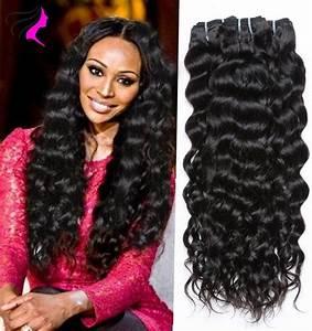 4 Bundles 7A Brazilian Virgin Hair Natural Wave Brazilian ...
