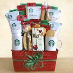 starbucks holiday greetings coffee gift basket