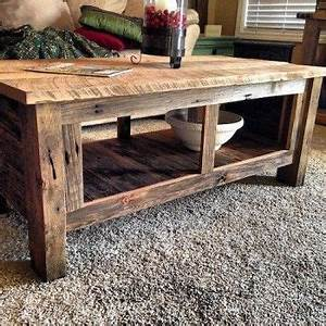 best 25 barnwood coffee table ideas on pinterest coffe With barn wood top coffee table