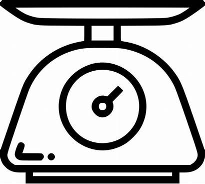 Scale Weighing Clipart Icon Svg Weigh Measure