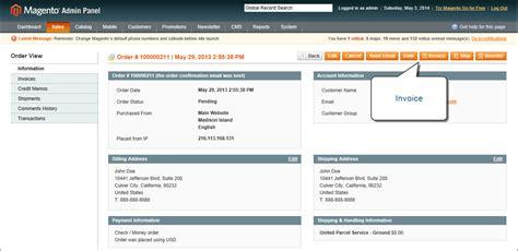 invoice  order