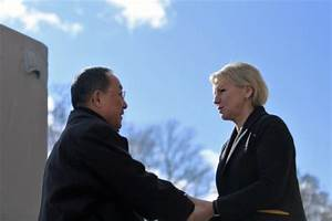 N. Korean, Swedish foreign ministers conclude rare talks