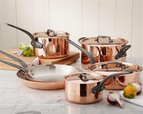 mauviel copper   piece cookware set   cookware set copper cookware set copper pots