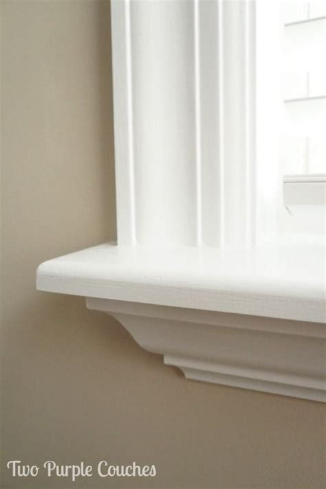 Interior Window Ledge by How To Install Your Own Window Trim Bedroom Home Decor