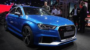 Audi Paris : audi rs3 sedan with 400 hp debuts in paris arrives in u s next summer ~ Gottalentnigeria.com Avis de Voitures