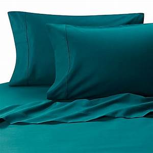 Buy MicroTouch King Sateen Sheet Set in Teal from Bed Bath