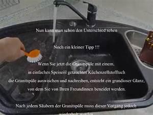 Dunkle Silgranit Spüle Reinigen : reinigen und auffrischen der granitsp le youtube ~ Eleganceandgraceweddings.com Haus und Dekorationen