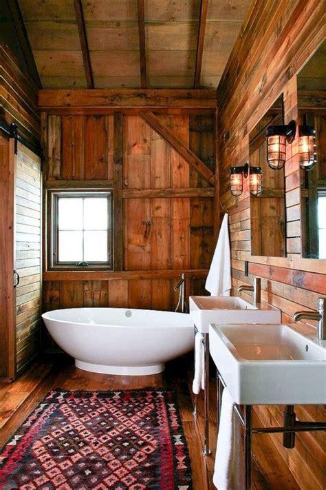amazing rustic barn bathroom decor ideas  magzhouse