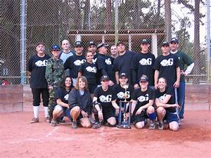 Custom T-Shirts for 2006 Vandenberg Afb Coed Softball ...