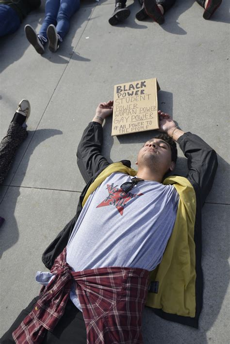 palomar students protest  police brutality