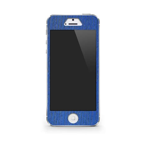 blue iphone 5 iphone 5 5s skin blue craftedcover