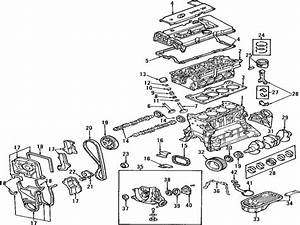 2001 Hyundai Accent Engine Diagram