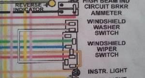 Wiper Switch Wiring Help