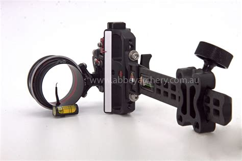 axcel black axcel accutouch carbon pro single 019 pin slider sight