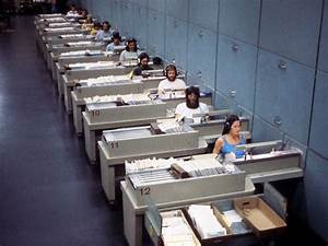 1968 systems at work for Letter sorting machine