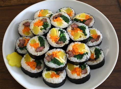 kimbap recipe kimbap kimchi www pixshark com images galleries with a bite