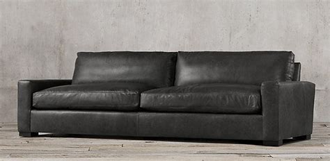 Maxwell Sleeper Sofa by Maxwell 8 Leather Shown In Slate 40 Quot X 34 Quot High