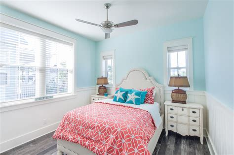 Amazing Coral Bedroom Color Schemes Decorating Ideas